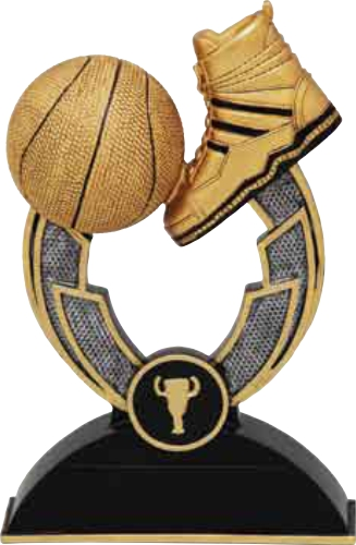 Basketball Boot n Ball trophy 150mm Image