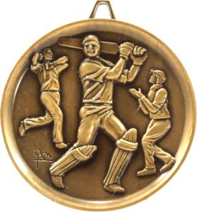 Heavyweight Cricket Medal Image