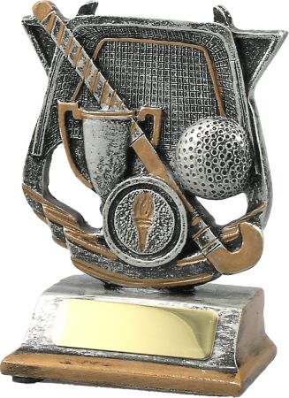Hockey Theme Silver 120mm (med) Image
