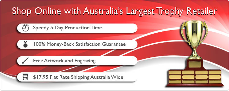 Australias best online shop for sporting trophies, corporate awards, honour boards