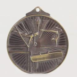Embossed Victory Series Gymnastics Medal 52mm