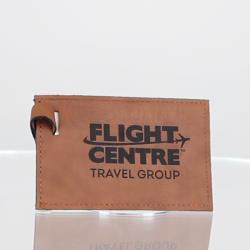 Leather Luggage Tag 110mm