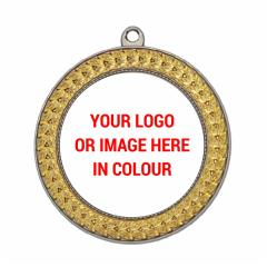Braid Personalised Medal 70mm