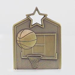 Shield Medal Basketball 60mm
