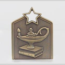 Shield Medal Academic 60mm