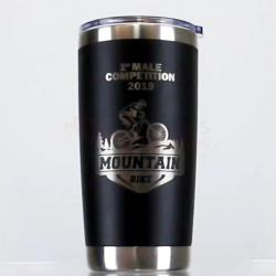 Laserable Tumbler Black