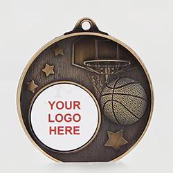 Stellar Basketball Logo Medal