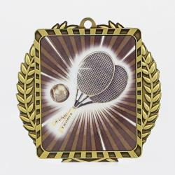 Lynx Wreath Tennis Medal Gold
