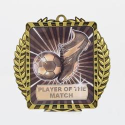 Lynx Wreath Player of the Match Medal Gold