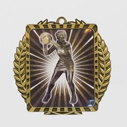 Lynx Wreath Netball Player Medal Gold