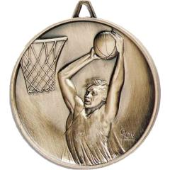 Heavyweight Male Basketball Medal