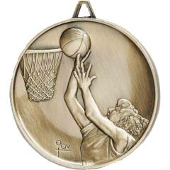 Heavyweight Basketball Medal, Female