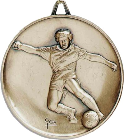 Heavyweight Soccer Medal, Male