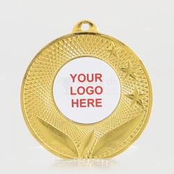 The Spatial personalised 50mm Medal Gold
