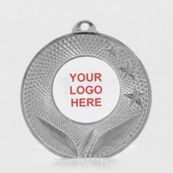 The Spatial personalised 50mm Medal Silver