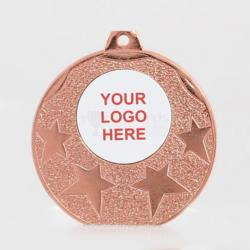 The Starburst personalised  50mm Medal Bronze