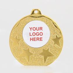 The Starburst personalised  50mm Medal Gold