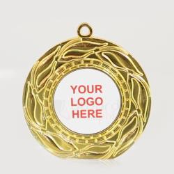 The Blaze personalised 50mm Medal Gold