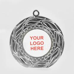 The Blaze personalised 50mm Medal Silver