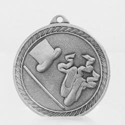 The Chevron Series - Dance - 50mm Medal Silver