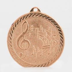 The Chevron Series - Music - 50mm Medal Bronze