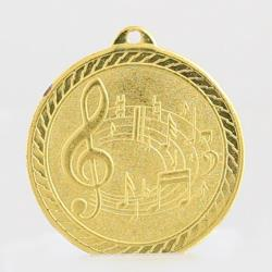 The Chevron Series - Music - 50mm Medal Gold