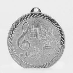 The Chevron Series - Music - 50mm Medal Silver