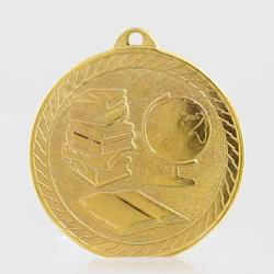 The Chevron Series - Knowledge - 50mm Medal Gold