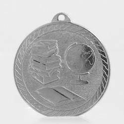 The Chevron Series - Knowledge - 50mm Medal Silver