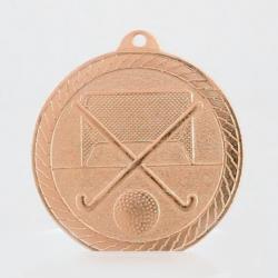 The Chevron Series - Hockey - 50mm Medal Bronze