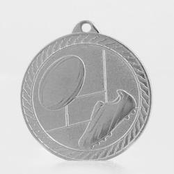 The Chevron Series - Rugby - 50mm Medal Silver