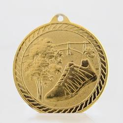 Chevron Cross Country Medal 50mm - Gold