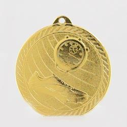 Chevron Track Medal 50mm - Gold