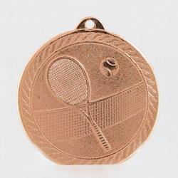 The Chevron Series - Tennis - 50mm Medal Bronze