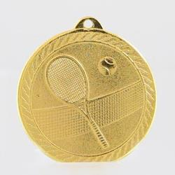 Chevron Tennis Medal 50mm - Gold