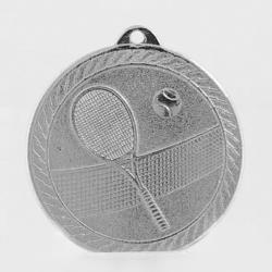 The Chevron Series - Tennis - 50mm Medal Silver