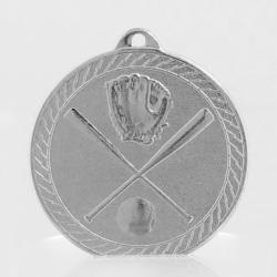 Chevron Baseball Medal 50mm - Silver