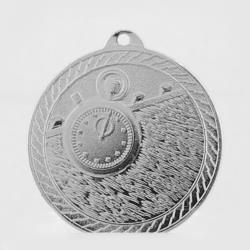 The Chevron Series - Swimming - 50mm Medal Silver