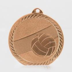 The Chevron Series - Volleyball - 50mm Medal Bronze