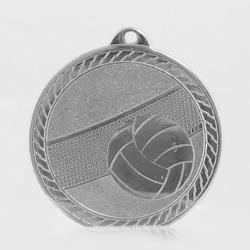 The Chevron Series - Volleyball - 50mm Medal Silver