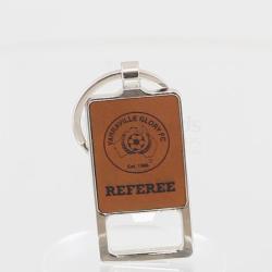 A&T Rawhide Keychain Bottle Opener