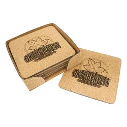 A&T Cork Coaster - Set of 6