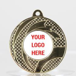 Banderole Personalised Medal 50mm Gold