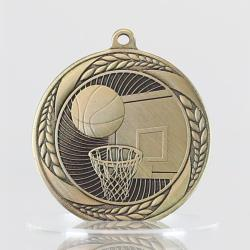 Basketball Apollo Medal 55mm Gold