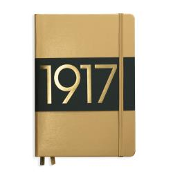 LEUCHTTURM1917 Notebook (A5) Hardcover - Gold