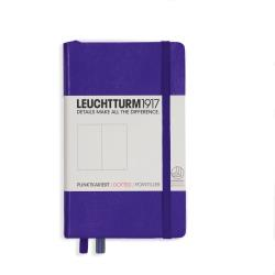 LEUCHTTURM1917 Notebook (A6) Hardcover - Purple