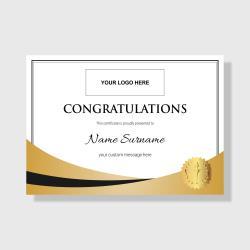 Gilt Series - Congratulations Gold