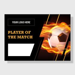 10 Pack - Player of the Match (Soccer) - Score Series