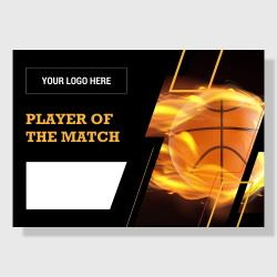 10 Pack - Player of the Match (Basketball) - Score Series