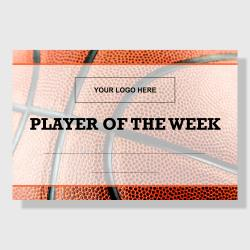 10 Pack - Player of the Week (Basketball) - Sporty Series